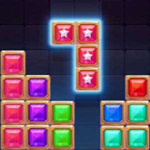 23. blcok puzzle star gem