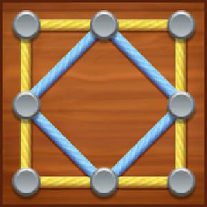 27. line puzzle string art